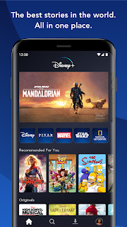 Screenshot 1: Disney+