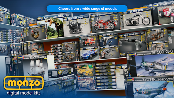 Screenshot 1: MONZO - Digital Model Builder