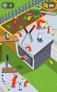 Screenshot 3: Sausage Wars.io