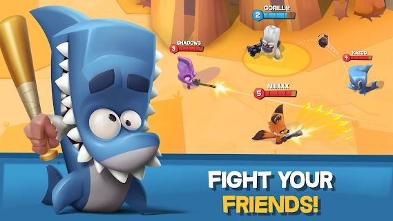 Screenshot 3: Zooba: Free-for-all Zoo Combat Battle Royale Games