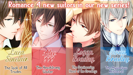 Screenshot 3: Otome Romance Novels