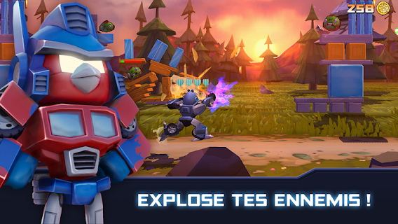 Screenshot 1: Angry Birds Transformers