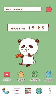 Screenshot 1: Cute Wallpaper Lunch for One Theme