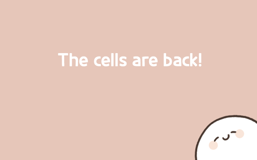 Screenshot 1: My 49 days with cells