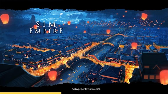 Screenshot 1: Sim Empire