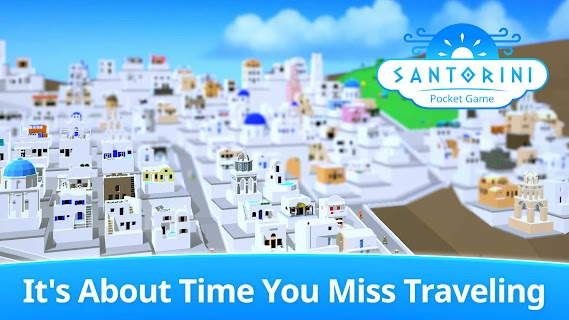 Screenshot 1: Santorini: Pocket Game