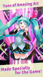 Screenshot 3: Hatsune Miku -TAP WONDER-