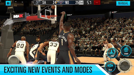 Screenshot 4: NBA 2K Mobile Basketball