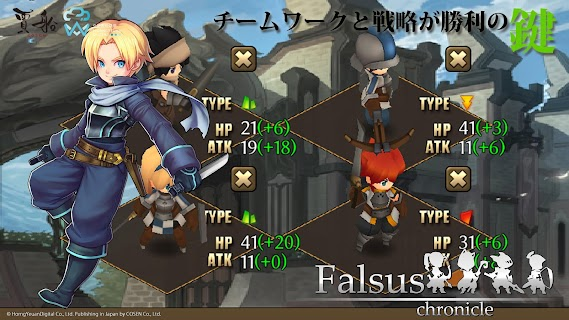Screenshot 4: Falsus Chronicle
