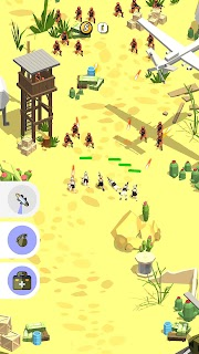 Screenshot 1: Marines Shooting 3D