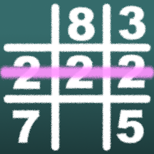 Icon: Number Tic-Tac-Toe IQ Puzzle