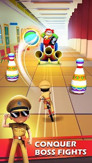 Screenshot 3: Little Singham Cycle Race