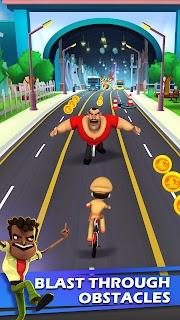 Screenshot 2: Little Singham Cycle Race