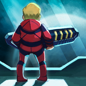Icon: Ailment: space pixelart action game