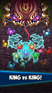 Screenshot 3: Crab War : Idle Swarm Evolution