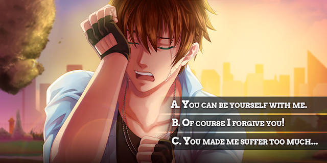Screenshot 1: My Candy Love - Otome game