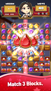 Screenshot 3: The Coma: Jewel Match 3 Puzzle