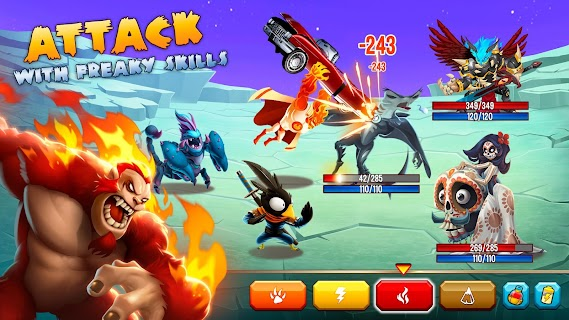 Screenshot 2: Monster Legends - RPG