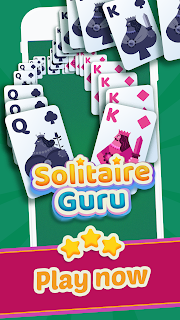 Screenshot 1: Solitaire Guru: Card Game