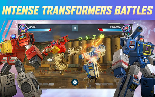 Screenshot 2: TRANSFORMERS: Forged to Fight