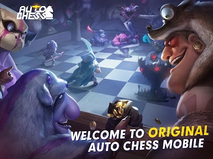 Screenshot 1: Auto Chess | English