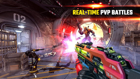 Screenshot 2: SHADOWGUN LEGENDS