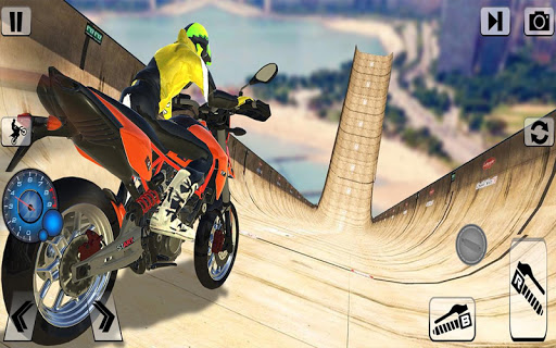 Screenshot 4: Bike Impossible Tracks Race: 3D Motorcycle Stunts