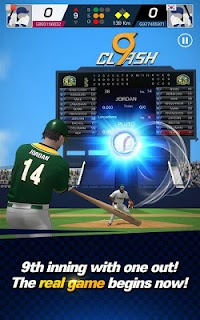Screenshot 1: 9CLASH BASEBALL
