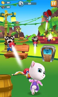 Screenshot 4: Talking Tom Blast Park: The New Blasting Adventure
