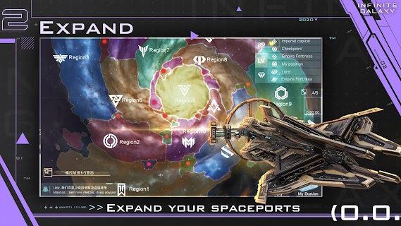 Screenshot 3: Infinite Galaxy