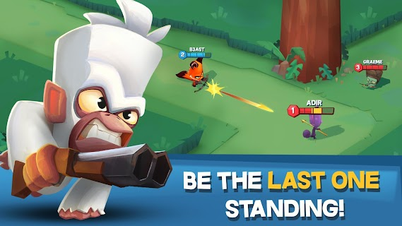 Screenshot 1: Zooba: Free-for-all Zoo Combat Battle Royale Games