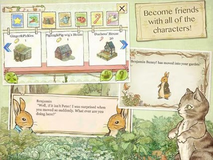 Screenshot 2: Peter Rabbit's Garden