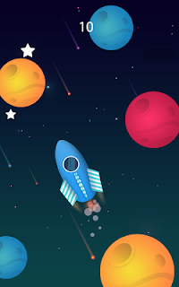 Screenshot 2: Planet Surfer