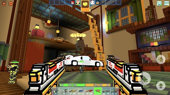 Screenshot 3: Cops N Robbers - 3D Pixel Craft Gun Shooting Games