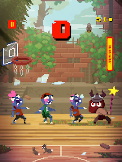 Screenshot 1: Basketball vs  Zombies