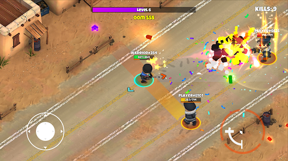 Screenshot 4: Warriors.io - Battle Royale & TPS