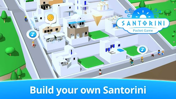 Screenshot 2: Santorini: Pocket Game