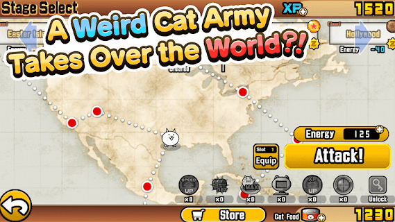 Screenshot 1: The Battle Cats | อังกฤษ