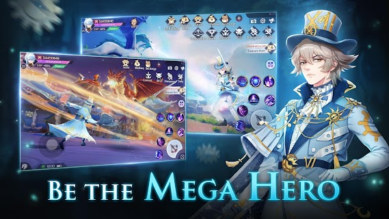 Screenshot 3: Mega Heroes | Inglés