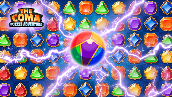 Screenshot 2: The Coma: Jewel Match 3 Puzzle