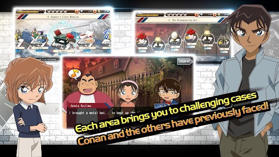 Screenshot 3: Case Closed Runner: Race to the Truth | Global