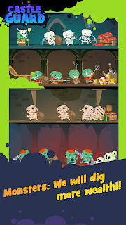 Screenshot 4: Idle Castle Defense – Zombie Miners