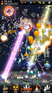 Screenshot 1: Galaxy Missile War