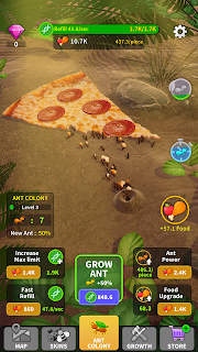 Screenshot 1: Little Ant Colony - Idle Game