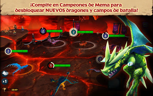 Screenshot 2: Dragones: El resurgir de Mema