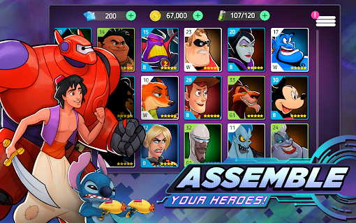 Screenshot 2: Disney Heroes: Battle Mode