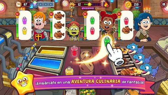 Screenshot 1: Potion Punch 2: Mágicas aventuras culinarias