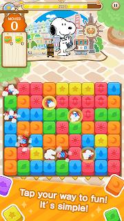 Screenshot 1: SNOOPY Puzzle Journey