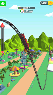Screenshot 2: Draw Rollercoaster 3d