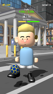 Screenshot 2: The Real Juggle - Pro Freestyle Soccer